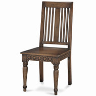 Roosevelt Dining Chair - Size: 103H x 48W x 53D (cm)