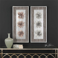 Adrienn Shadow Box Set/2 Wall Decor a Alternative Wall Decor by Uttermost