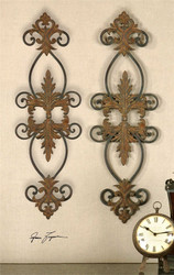 Lacole Set/2 Wall Decor a Alternative Wall Decor by Uttermost