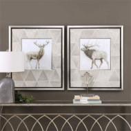 Stag and Elk Set/2 - Framed Artwork a Prints Framed by Uttermost