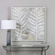 Winter White - Hand Painted Artwork a Paintings by Uttermost