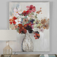 Cut Flower Bouquet - Hand Painted Artwork a Paintings by Uttermost