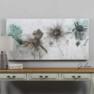 Daisy Shadows - Hand Painted Artwork a Paintings by Uttermost