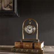 Bahan Desk Clock by Uttermost