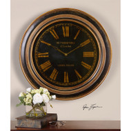 Buckley Wall Clock by Uttermost