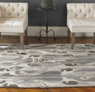 Sepino Grey 3.7m Hand Tufted Rug by Uttermost