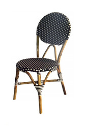 Bistro Chair - Black & White