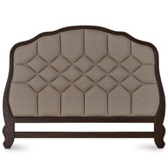 Monaco Tufted Headboard King - Size: 153H x 210W x 5D (cm)