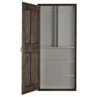 Edinburgh Narrow Wine Door Cabinet Right Opening - Size: 222H x 100W x 15D (cm)
