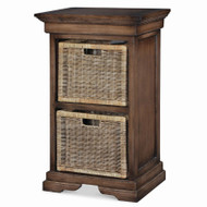 Veranda Double Storage Tower - Size: 90H x 56W x 41D (cm)