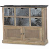 Cottage Organizer - Size: 92H x 112W x 33D (cm)