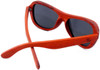 Rockaway Butterfly Polarized Red Rosewood Sunglasses Back