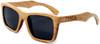 Cloudbreak Polarized Square Duwood Frame Sunglasses Side