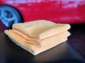 "Single Plush Wax Removal Towel 360gsm (16"" x 16"") - 3/pk"