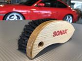 Sonax Textile, alcantara and suede detail brush