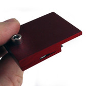 "1/8"" Border Edge Cutter Red Anodized"