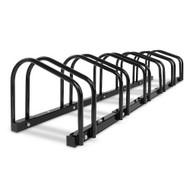 Portable 6 Bike Parking Rack- Black