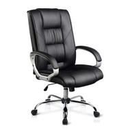 Executive PU Leather Office Computer Chair - Black #2