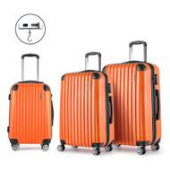 Wanderlite Luggage Case 3 PCS Orange