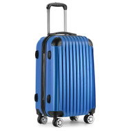 20 Inch Luggage Suitcase Trolley - Blue
