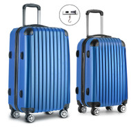 Wanderlite Luggage Case 2 PCS Blue