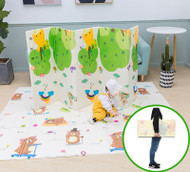 Double Sided Foldable Baby Toddler Crawling Playing Play Mat XPE 2x1.8m
