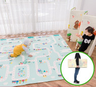 Foldable Baby Toddler Crawling Playing Play Mat Double Sided XPE 2x1.8m