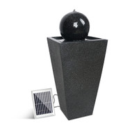 Gardeon Solar Powered Water Fountain - Black
