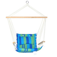 Gardeon Hammock Swing Chair - Blue & Green