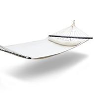 Gardeon Swing Double Hammock Bed Cream