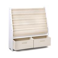 Artiss 4 Tier Wooden Kids Bookshelf - White
