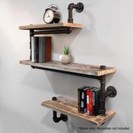 Artiss 3 Level 84cm DIY Adjustable Metal Bookshelf