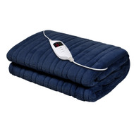 Giselle Bedding Electric Throw Blanket - Navy