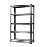 Giantz 0.7M Metal Steel Warehouse Shelving Racking Garage Storage Shelves Racks