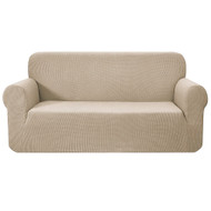 Artiss High Stretch Sofa Cover Couch Protector Slipcovers 3 Seater Sand