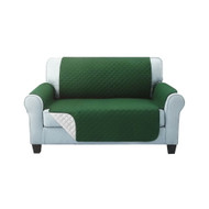 Artiss Sofa Cover Quilted Couch Covers Protector Slipcovers 2 Seater Green