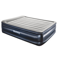 Bestway Queen Air Bed Inflatable Mattress Sleeping Mat Battery Built-in Pump 01
