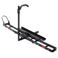 Giantz Motorcycle Motorbike Carrier Rack 2 Towbar Arm Rack Dirt Bike Ramp Steel""
