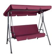 Gardeon Outdoor Swing Chair Hammock 3 Seater Garden Canopy Bench Seat Backyard S3