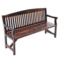 Gardeon Wooden Garden Bench Chair Natural Outdoor Furniture D?¡ã¡Ì??cor Patio Deck 3 Seater C2