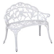 Gardeon Victorian Garden Bench ?????¡§ White