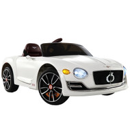 Rigo Kids Ride On Car  - White C2