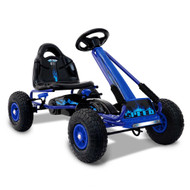 RIGO Kids Pedal Go Kart Car Ride On Toys Racing Bike Blue BL