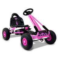 RIGO Kids Pedal Go Kart Car Ride On Toys Racing Bike Pink PK
