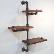 Artiss 3 Level 84cm DIY Adjustable Metal Bookshelf M01