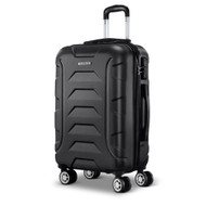 Wanderlite 20 Luggage Sets Suitcase Trolley Travel Hard Case Lightweight Black""
