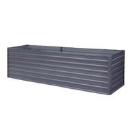Greenfingers 320 x 80 x 77cm Galvanised Steel Raised Garden Bed Planter