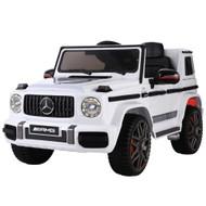 Mercedes-Benz Kids Ride On Car Electric AMG G63 Licensed Remote Cars 12V White
