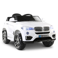 Rigo Kids Ride On Car BMW X5 - White