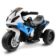 Kids Ride On Motorbike BMW Licensed S1000RR Motorcycle Car Blue